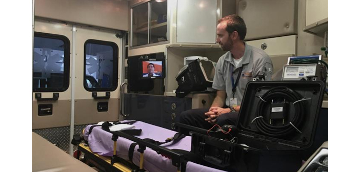 Mobile Videoconferencing in Ambulance