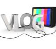 vlog_with_tv_royaltyfree