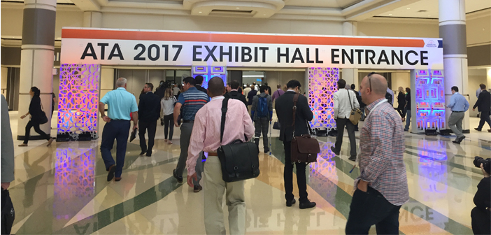 ATA 2017 Exhibit Hall Entrance