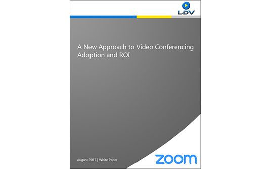 A New Approach to Video Conferencing  Adoption and ROI