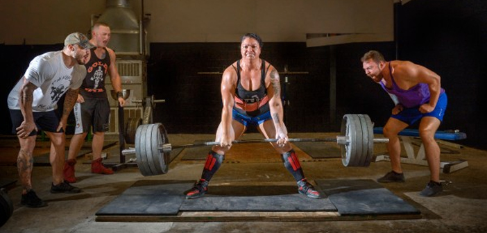 Ana Perez Powerlifter