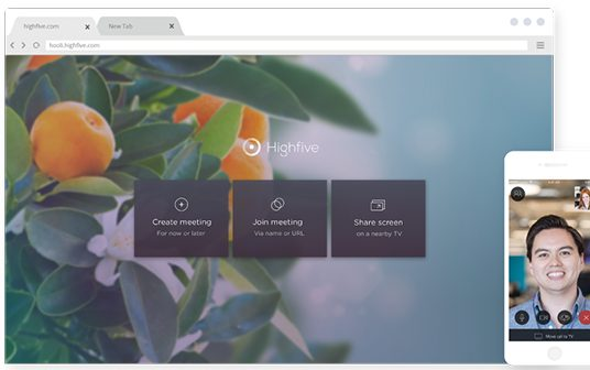 Highfive Introduces Join by Browser WebRTC Video Conferencing