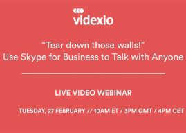 "Webinar: ""Tear down those walls!"" – Use Skype for Business to Talk with Anyone"