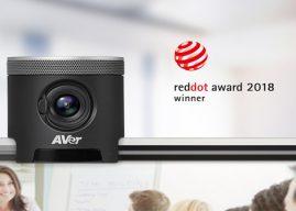 AVer CAM340 Receives Red Dot Award for High Design Quality