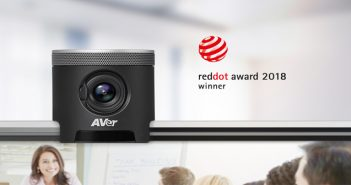 AVer CAM340 Red Dot Award