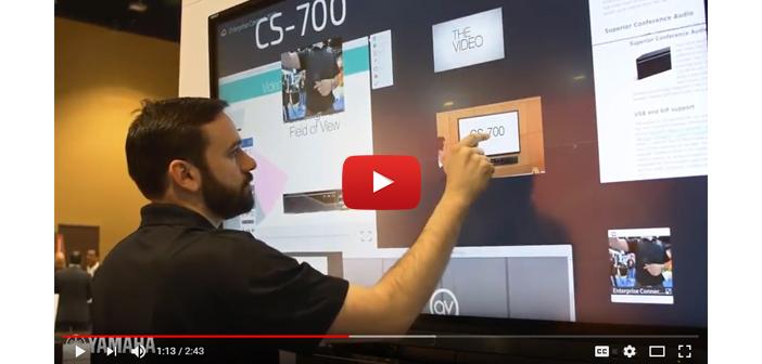 Huddle Room Ecosystem: Enterprise Connect Demo Video