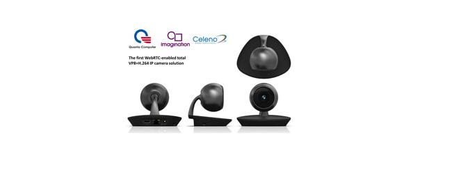 Quanta – First WebRTC-enabled total VP8+H 264 IP camera