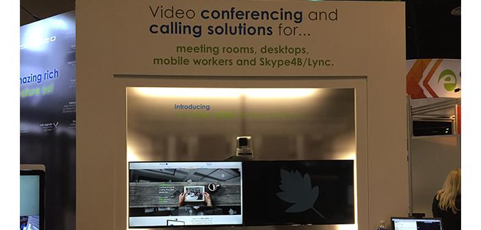 Starleaf GTm 5520 room system for Skype4B at InfoComm 2015