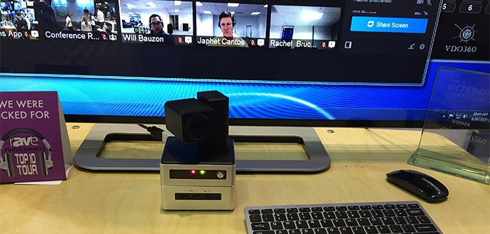VDO360 Clearwater Camera at InfoComm 2015