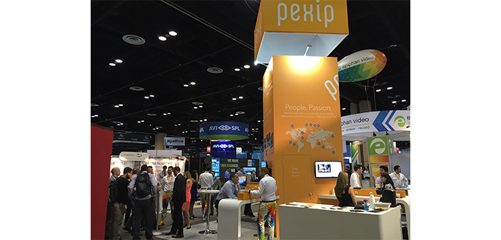 The Pexip Booth at Infocomm 2015