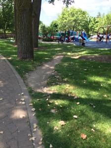 Desire Path to a Playground