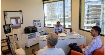 Telepresence Robot Meeting