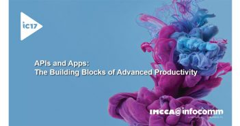 APIs and Apps - Building Blocks of Productivity