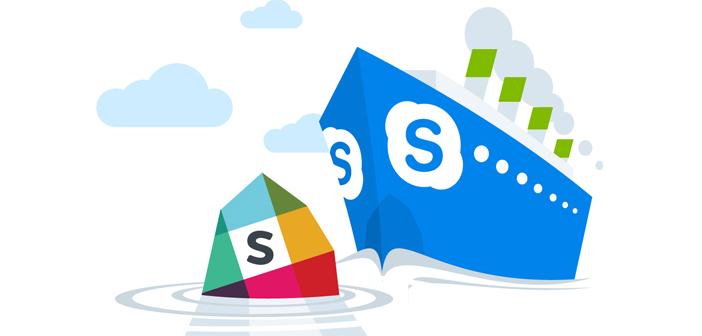 Slack Sinks Skype