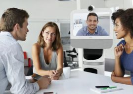 Telepresence Robots Attempt to Move Back Into the Spotlight