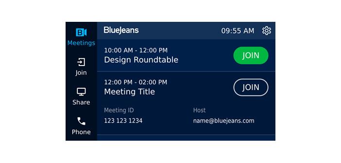 BlueJeans Room Dolby Display