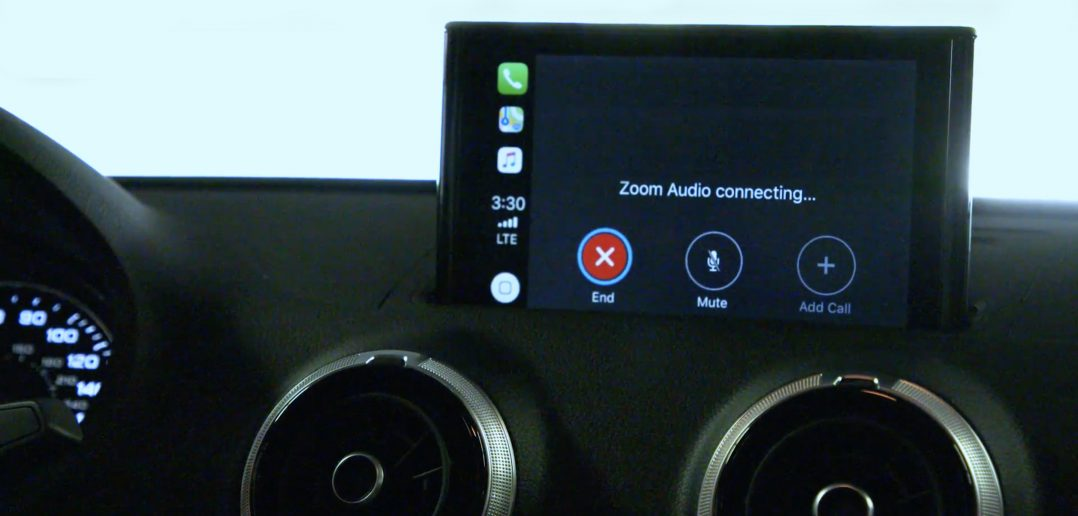 Zoom Apple CarPlay