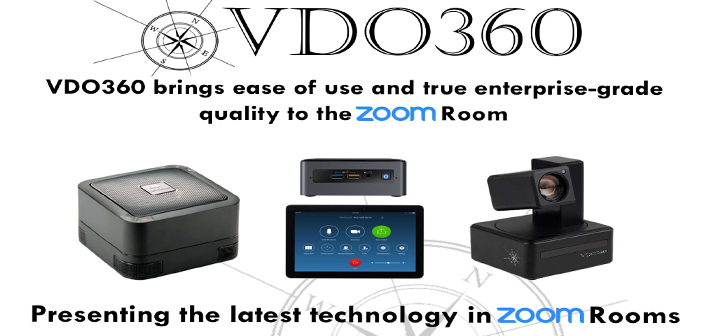 VDO360 CUBE System Announced - Let's Do Video