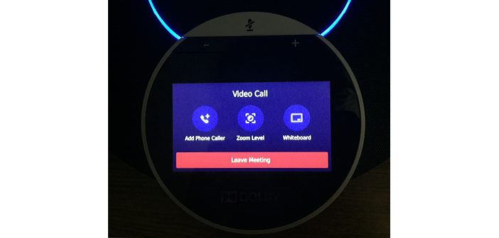 Dolby Highfive UI