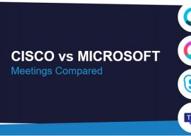 Cisco Webex Meetings vs. Microsoft Teams Meetings