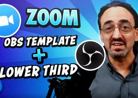 96: OBS Template for Zoom – (Lower Third)