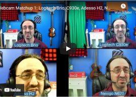 Webcam Match Up: Head to Head Comparison Videos