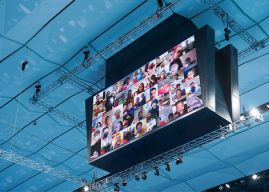 Virtual Cheers, Recorded Sounds, Videoconferencing: How Olympians and Fans Are 'Connecting'